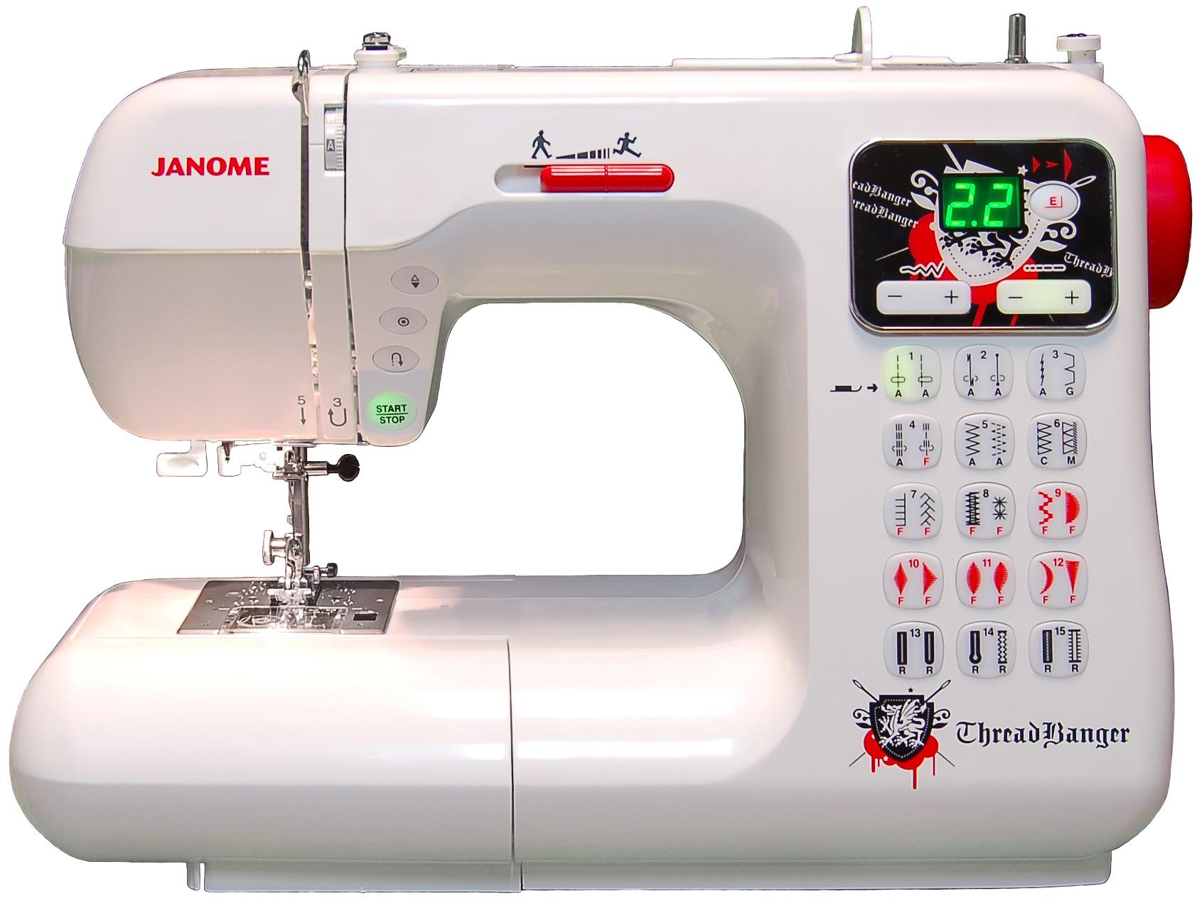 Janome TB30 Threadbanger Computerized Sewing Machine