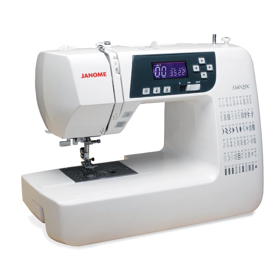 Janome 3160QDC Computer Sewing Machine