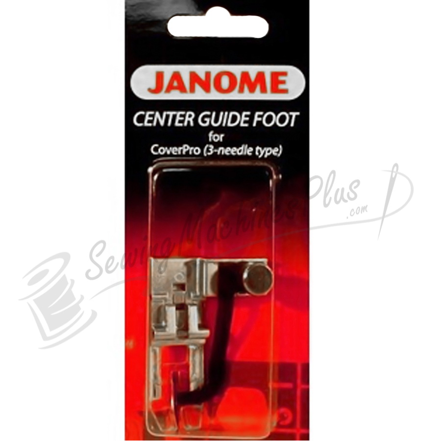 Janome Center Guide Foot for Cover Pro (3-needle type)