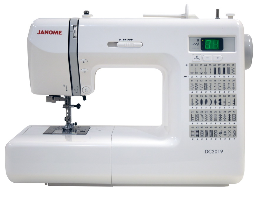 Janome DC2019 Computerized Sewing Machine With a Free Bundle Package