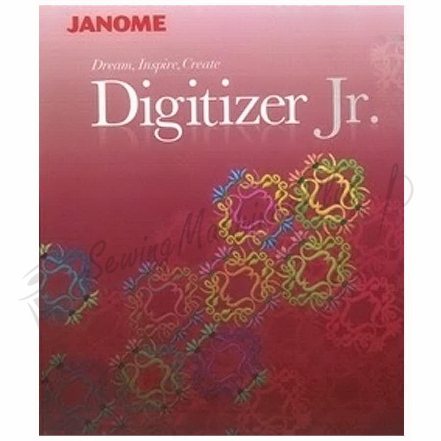 Janome Digitizer Jr V4.5 Digitizing Software