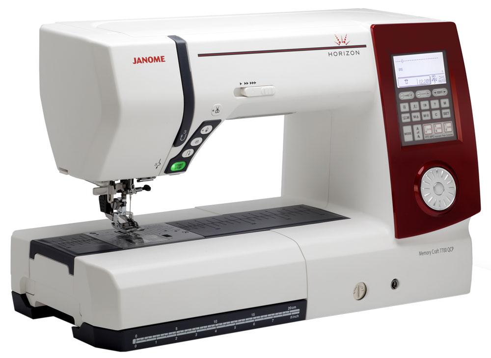 Horizon 7700 QCP - Computer Sewing & Quilting Machine : janome quilting machine reviews - Adamdwight.com