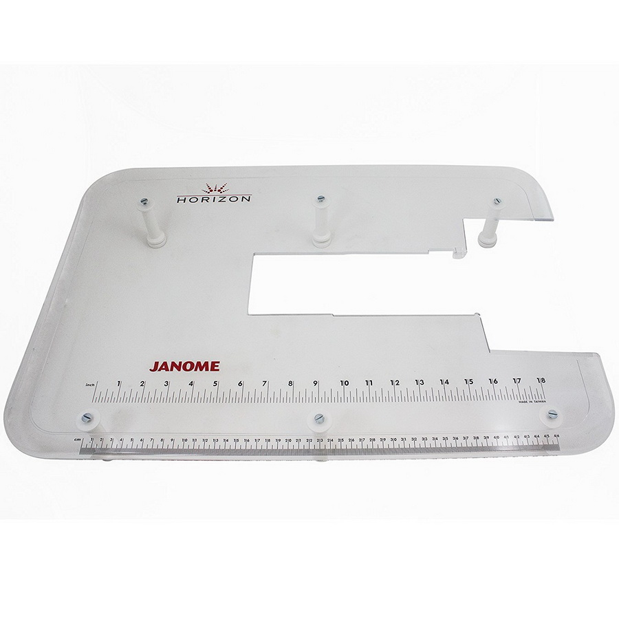 Janome Acrylic Extension Table for MC12000