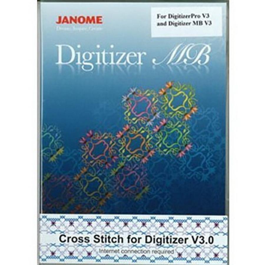 Janome Cross Stitch Option for Digitizer Pro V3 and Digitizer MB V3