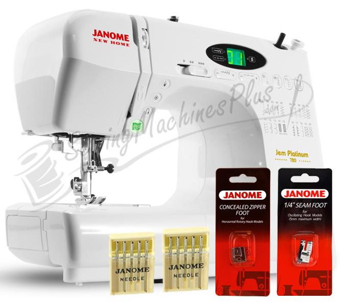 Janome New Home 720 Sewing Machine w/ FREE BONUS