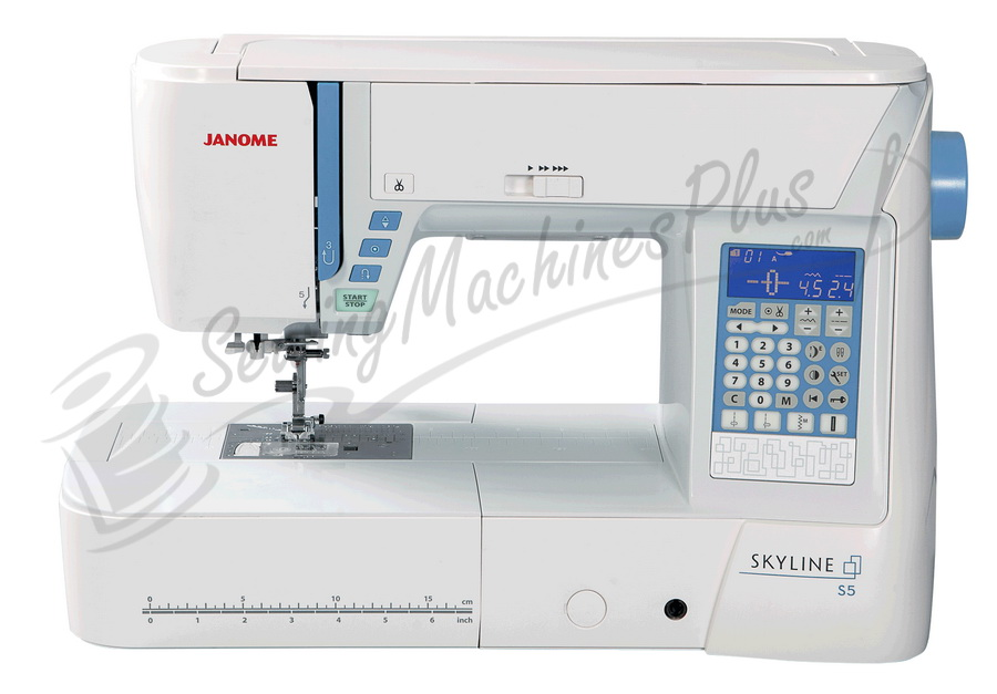 Janome Skyline S5 Sewing Machine