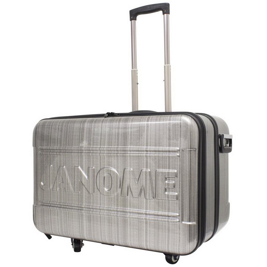 Janome Horizon Rolling Cart - Grey (HORIZONHARDCASE)