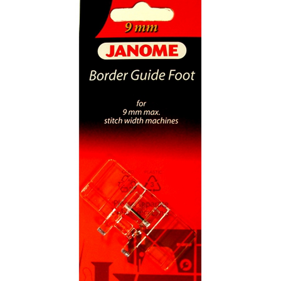 Janome 9mm Border Guide Foot - #202084000