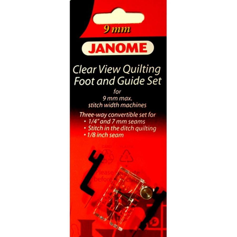 Janome Clear View Quilting Foot and Guide Set - #202089005