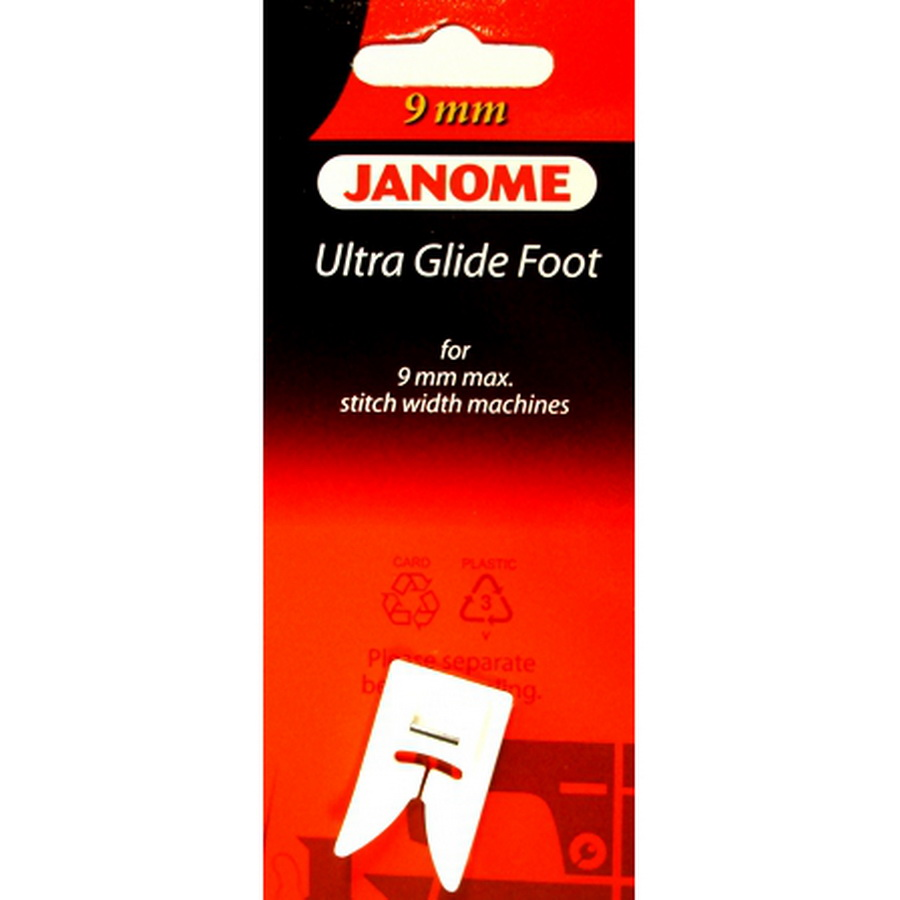 Janome 9mm Ultra Glide Foot
