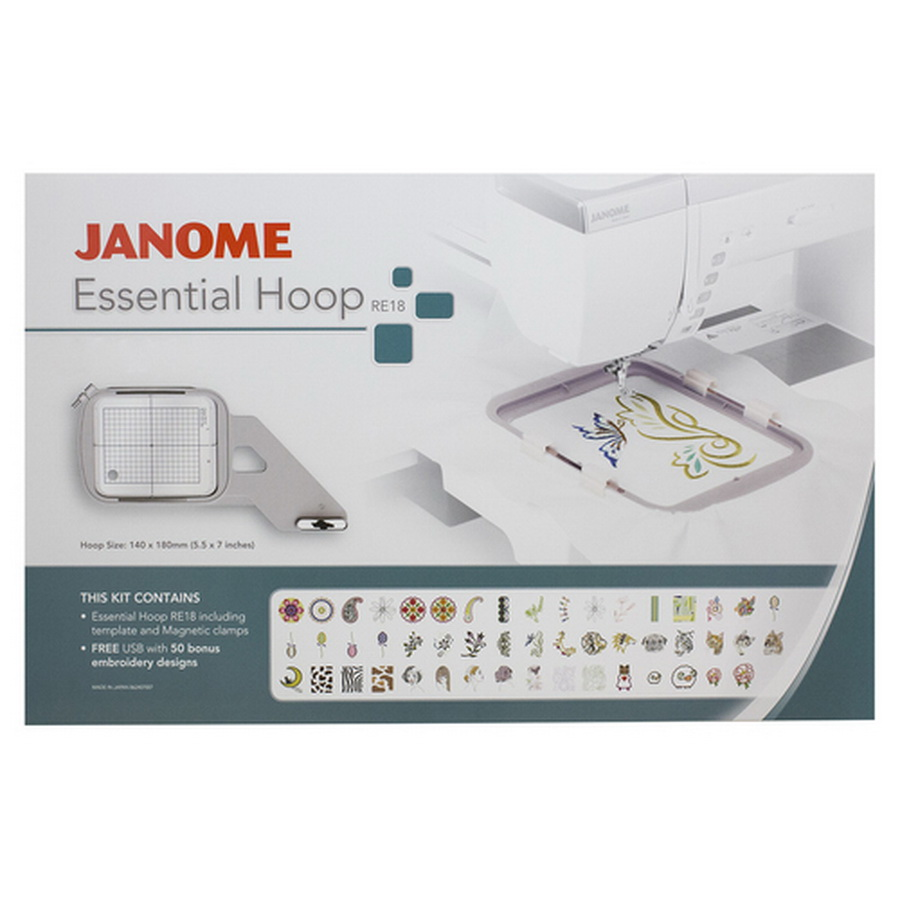 Janome RE18 Essential Hoop Kit (003862407007)