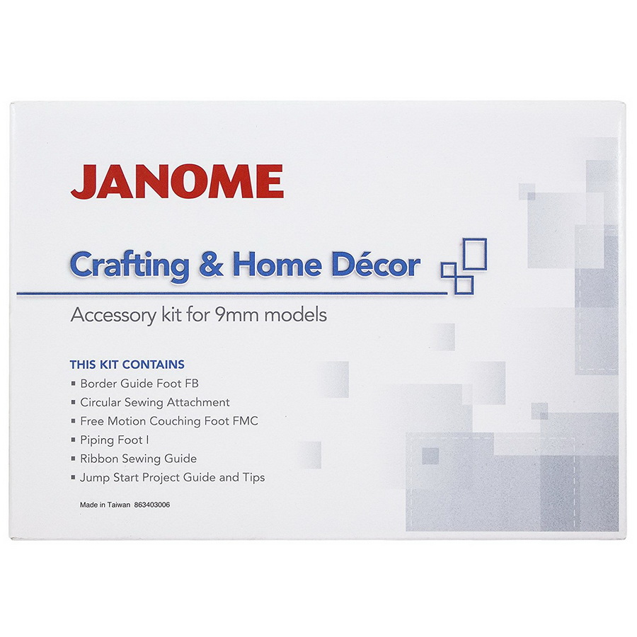 Janome Home Decor Accessory Kit (863403006)