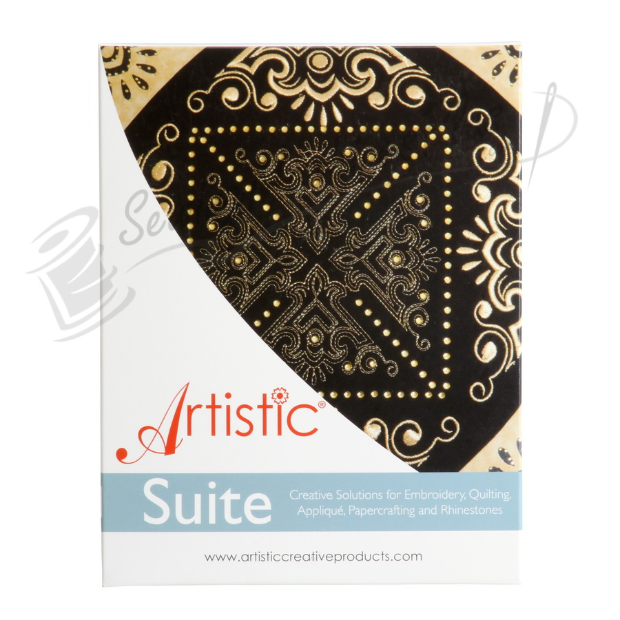 ARTISTIC SUITE V7.0 Flat Needle (Single Needle Embroidery Machines)