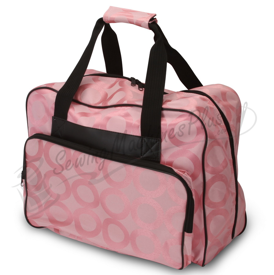 Janome Sewing Machine Tote Pink Fabric