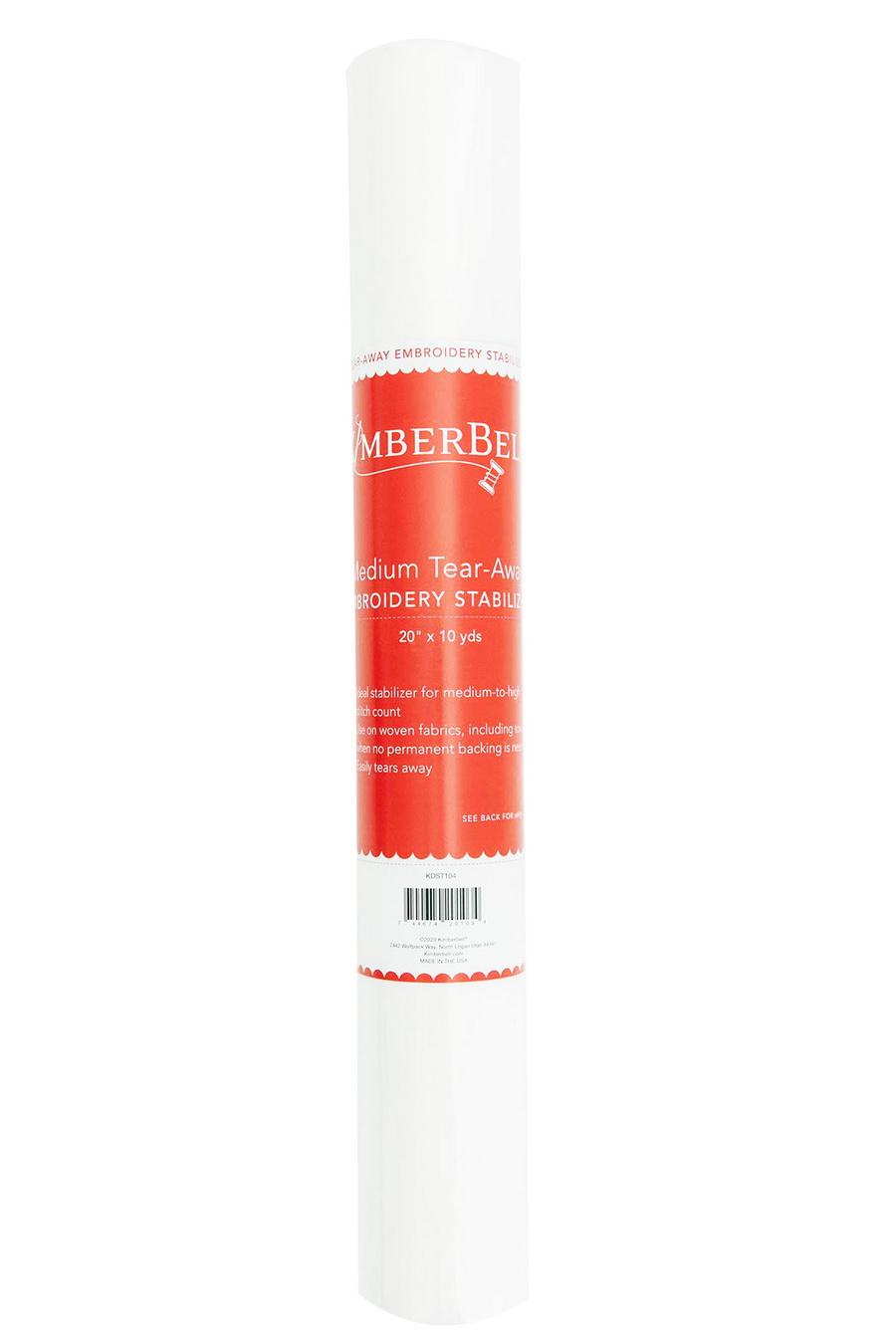 KimberBell Medium Tear Away 20 in x 10 yd Stabilizer Roll (KDST104)
