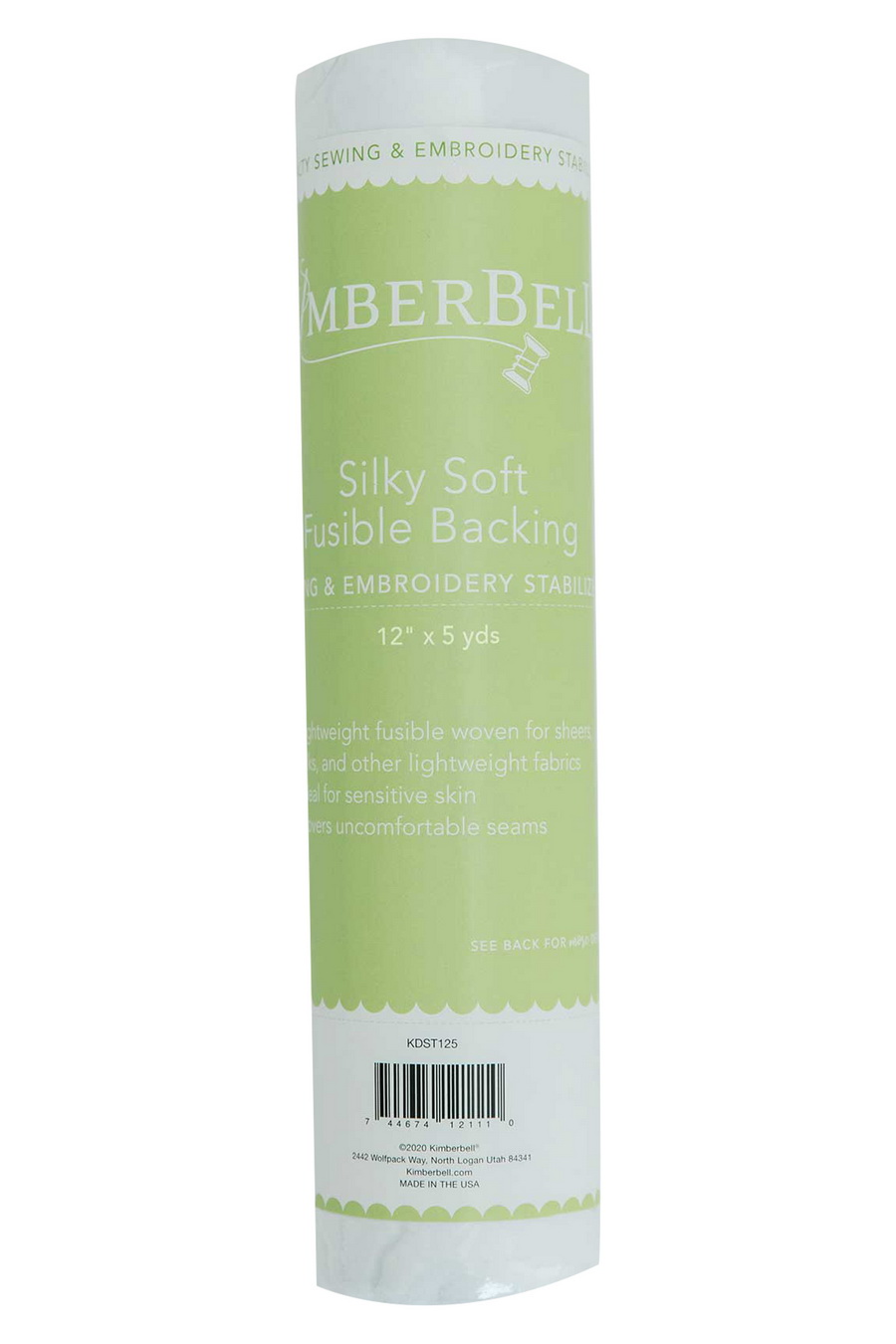 KimberBell Silky Soft Backing 12 in x 5 yd Backing and Stabilizer Roll (KDST125)