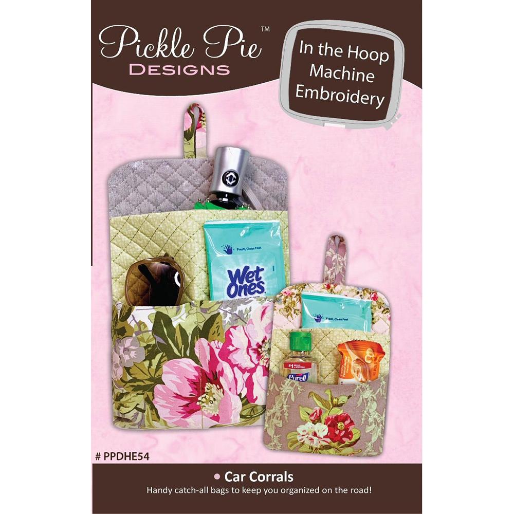 Pickle Pie Designs Car Corrals Hoop Envy Club ITH Machine Embr CD (PPDHE54)
