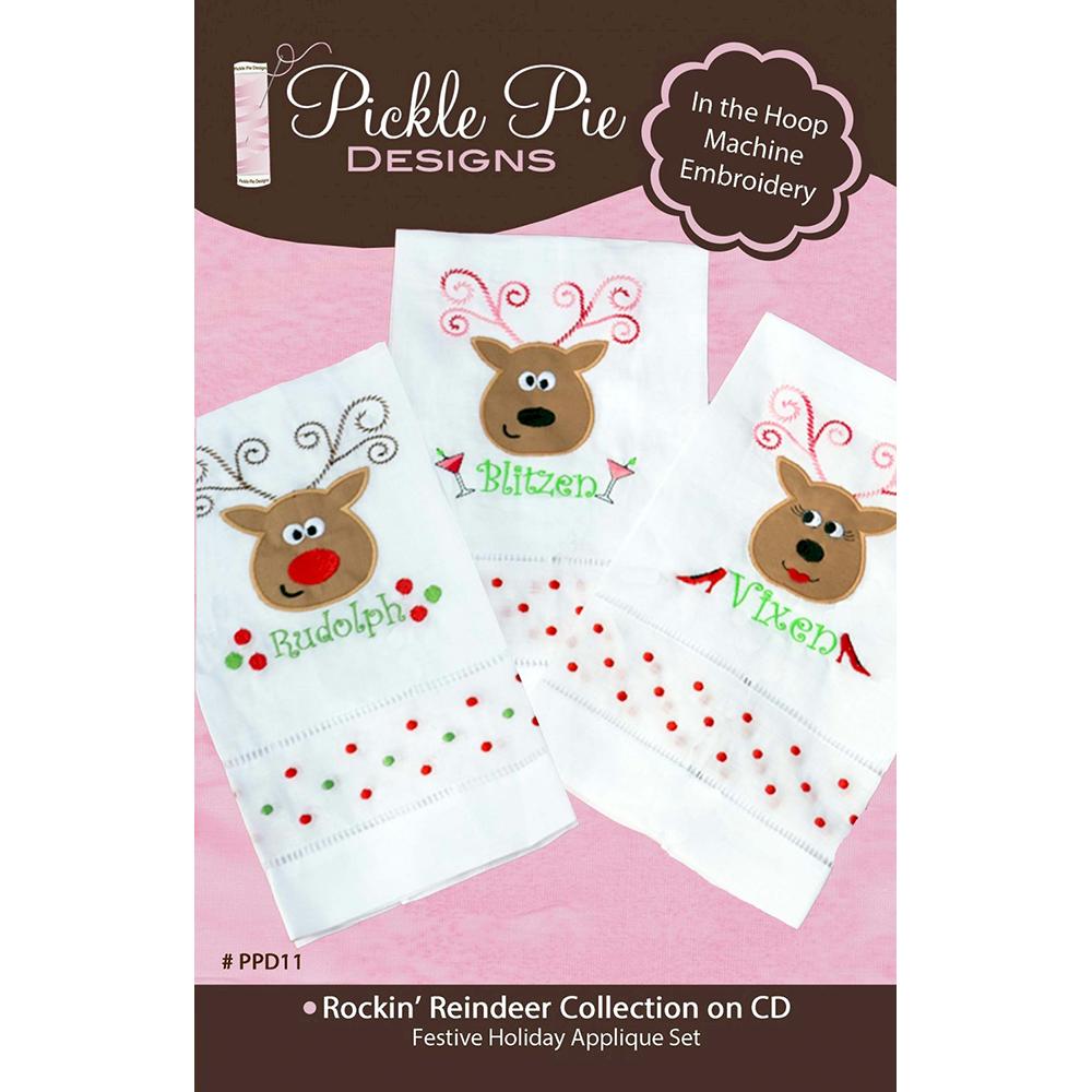 Pickle Pie Designs Rockin Reindeer Collection (PPD11)