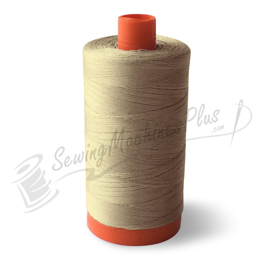 Aurifil Cotton Mako 50wt  Lt Sand 1300m (2000)