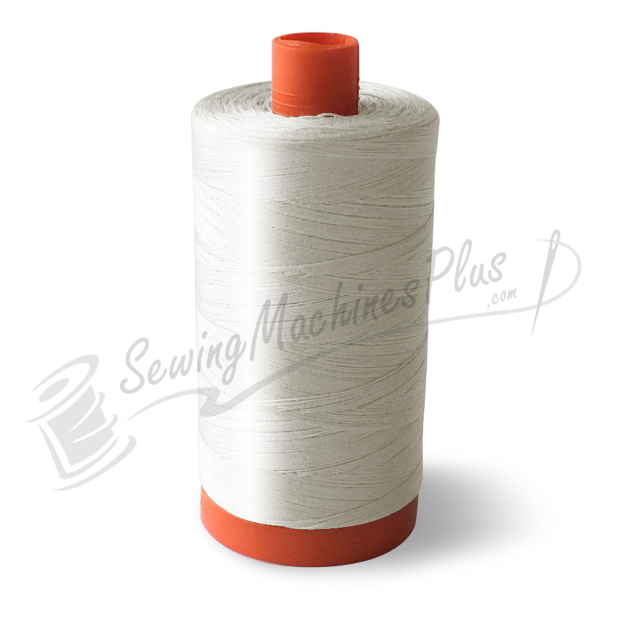 Aurifil Cotton Mako 50wt Natural White 1300m (2021)