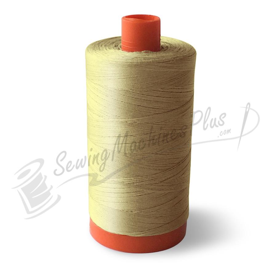 Aurifil Cotton Mako 50wt Butter 1300m (2123)