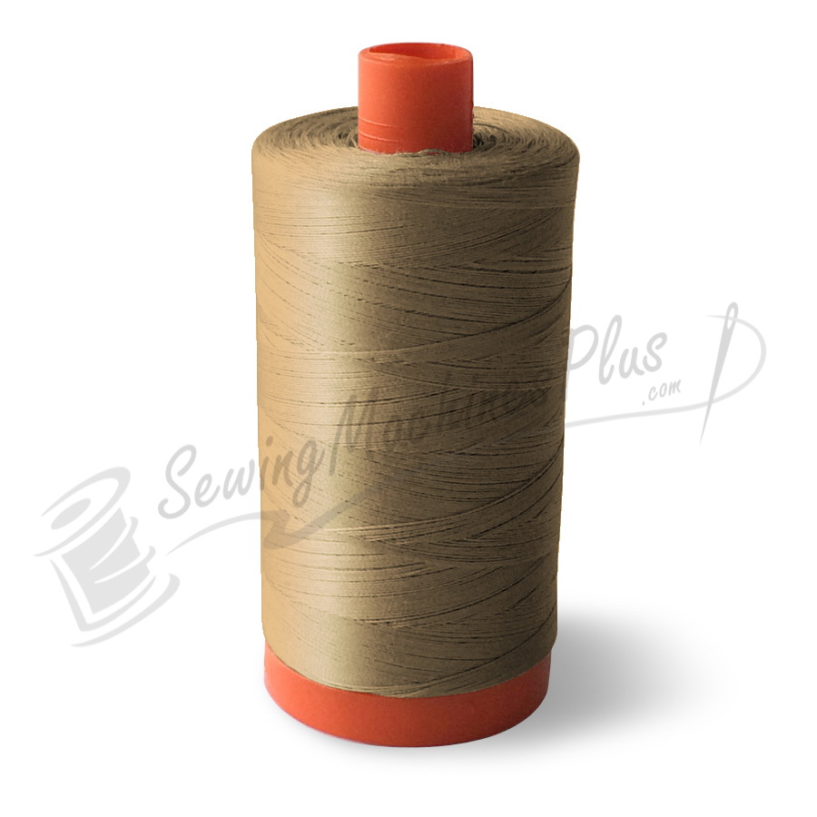 Aurifil Cotton Mako 50wt  Sand 1300m (2326)