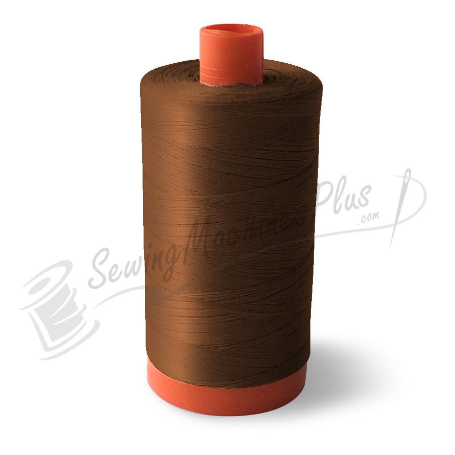 Aurifil Cotton Mako 50wt Chocolate 1300m (2360)