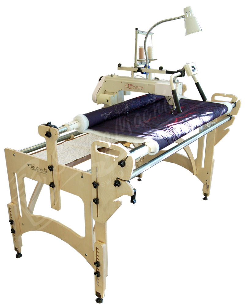 long frame w queen machine stitch arm quilting machines regulator quilt wood quilter