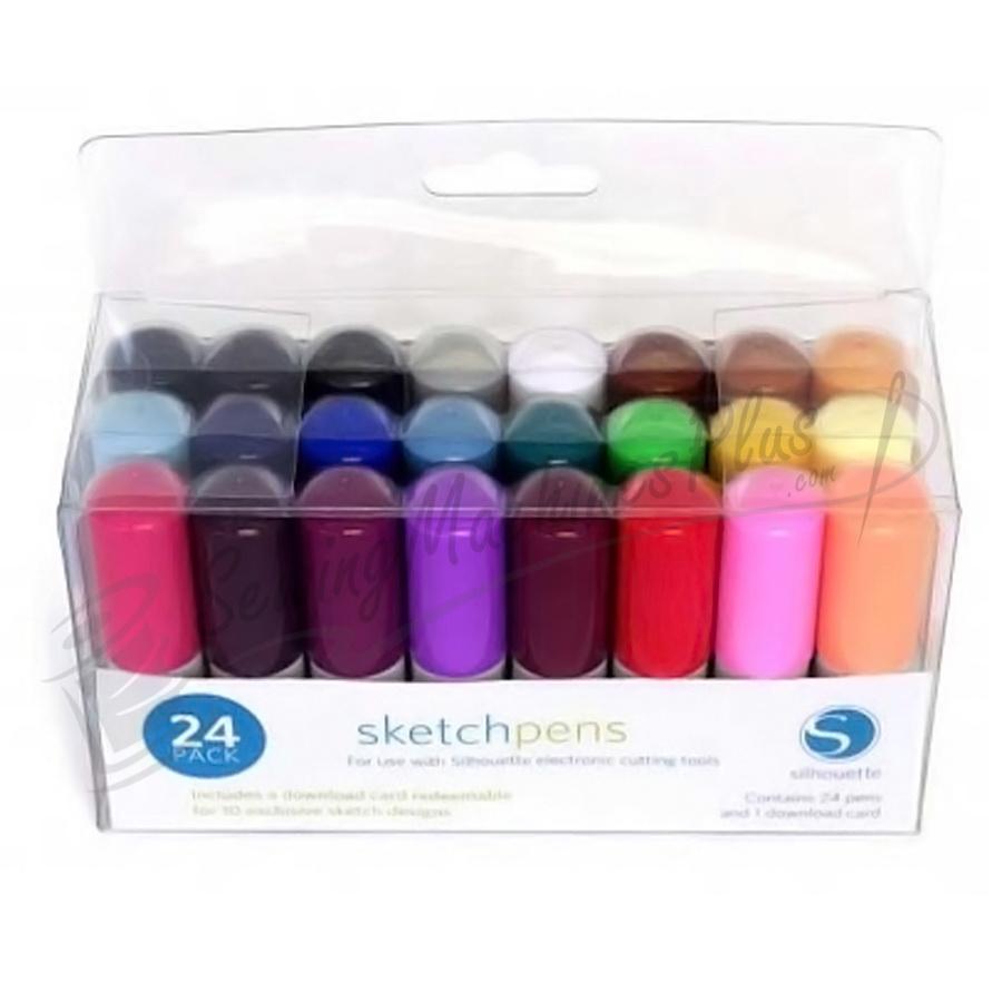Silhouette Sketch Pen 24 Color Pack  (KIT-PEN)