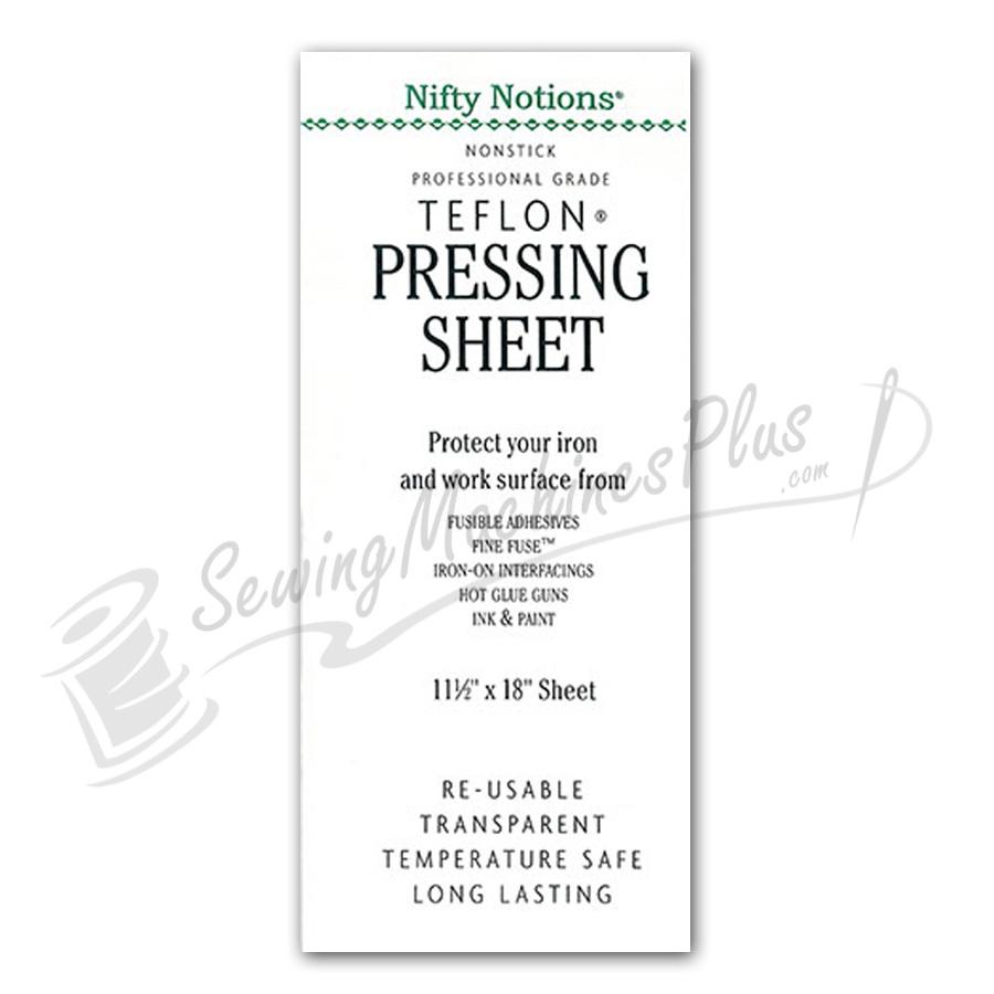 """11-1/2"""" x 18"""" Teflon Pressing Sheet for Pressing Fusible Adhesives"""