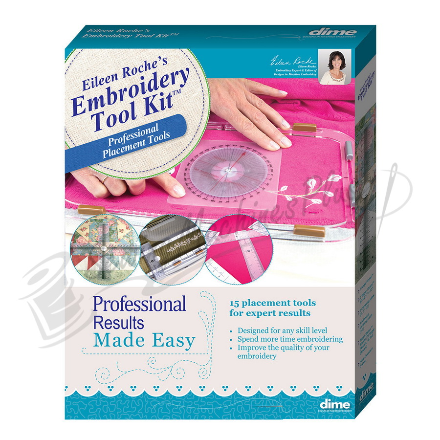 Embroidery Tool Kit Designs in Machine Embroidery (ETK0010)