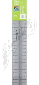 "Olipfa Lip Edge Ruler 4"" x 36"" OLR436"