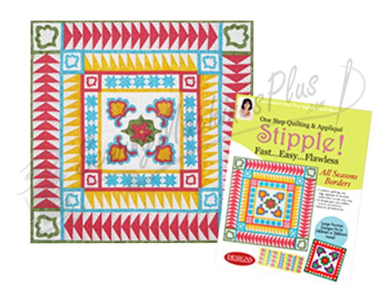Stipple! All Seasons Borders Designs in Machine Embroidery