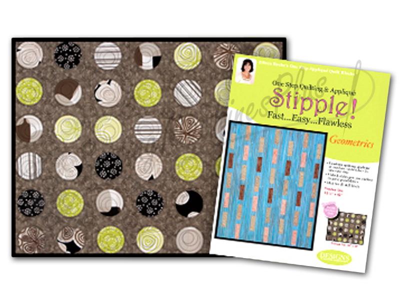 Stipple! Quilt Blocks - Geometrics - Designs in Machine Embroidery