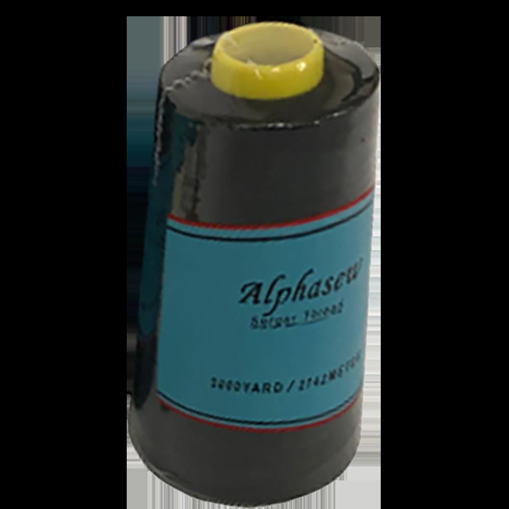 Alphasew Serger Thread, 3000yds. - Black ALP-BLACK