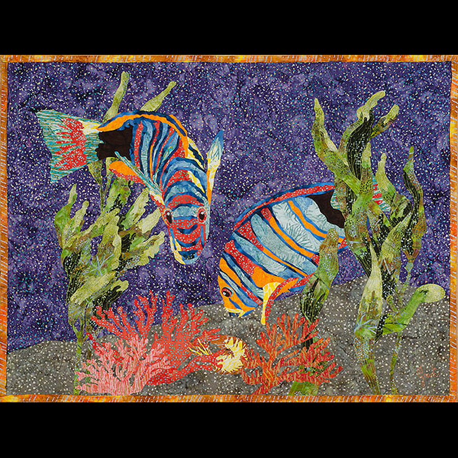 Amazing Quilts by Grace - Underwater Fantasy