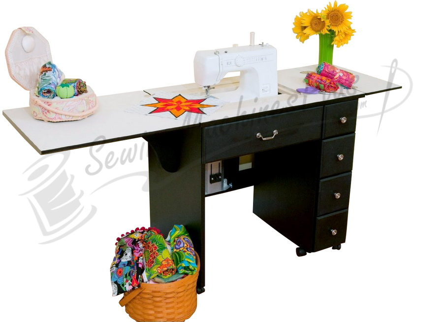 Arrow Auntie Retro-look Sewing Cabinet - Choose Your Finish