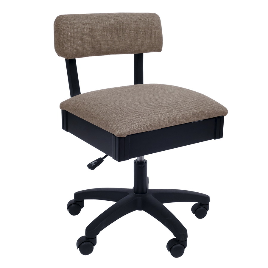 H8140 Arrow Adjustable Height Hydraulic Sewing and Craft Chair - Princess Hazel