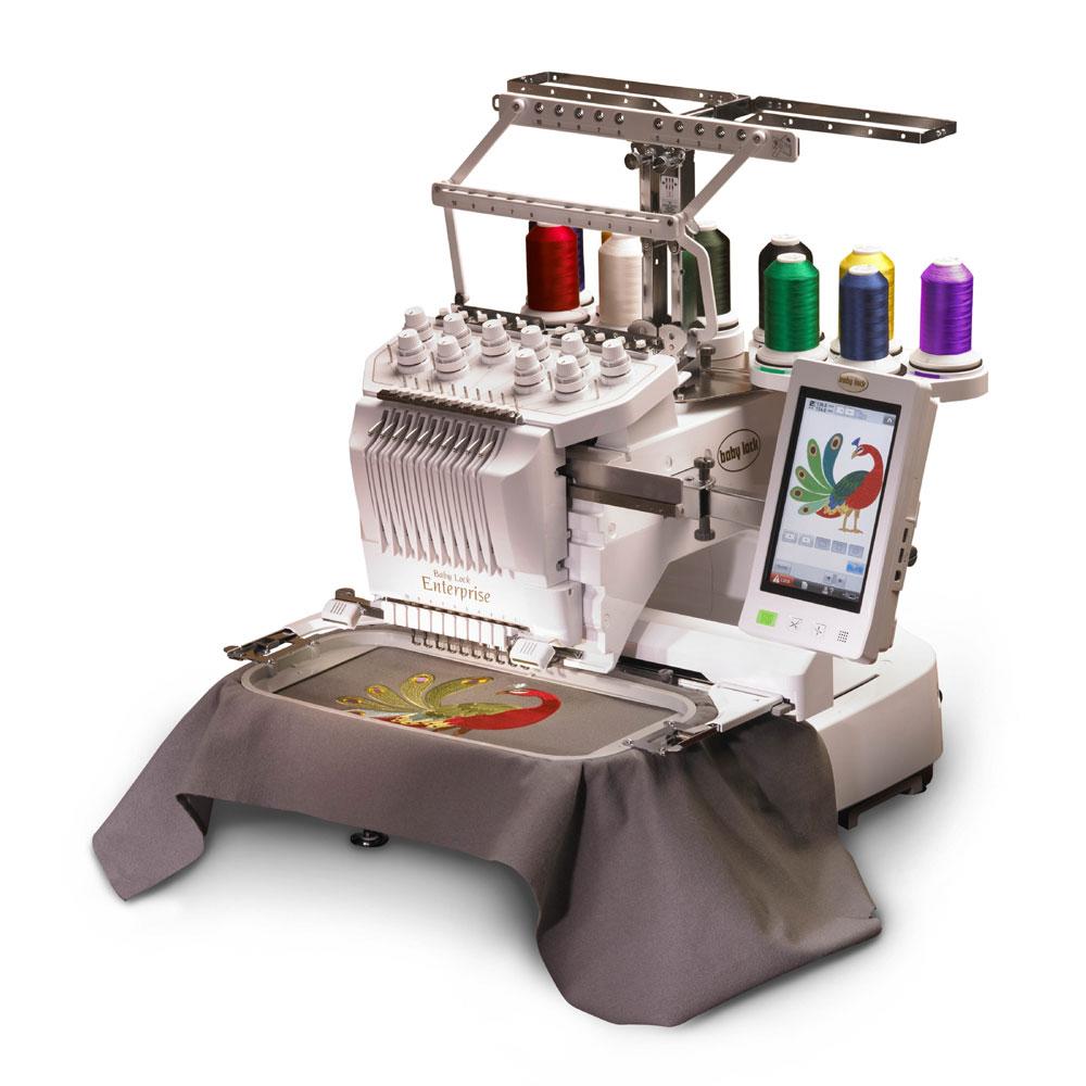Baby Lock Enterprise 10 Needle Professional Embroidery Machine