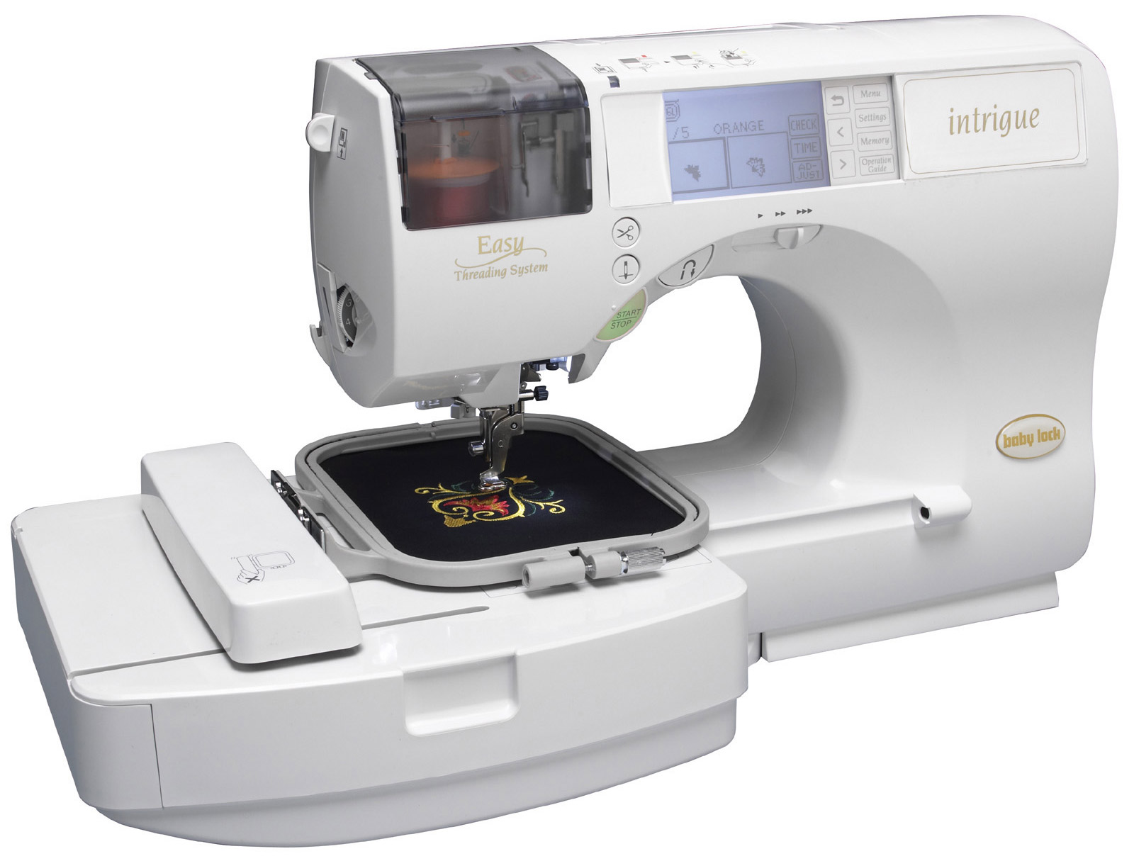 Baby Lock Embroidery and Sewing Machine Intrigue INT