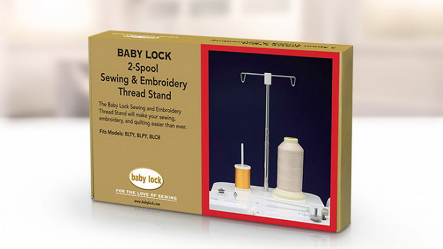 Baby Lock Thread Stand 2 Large Spools For blty, blpy, blcr (blma-sts)
