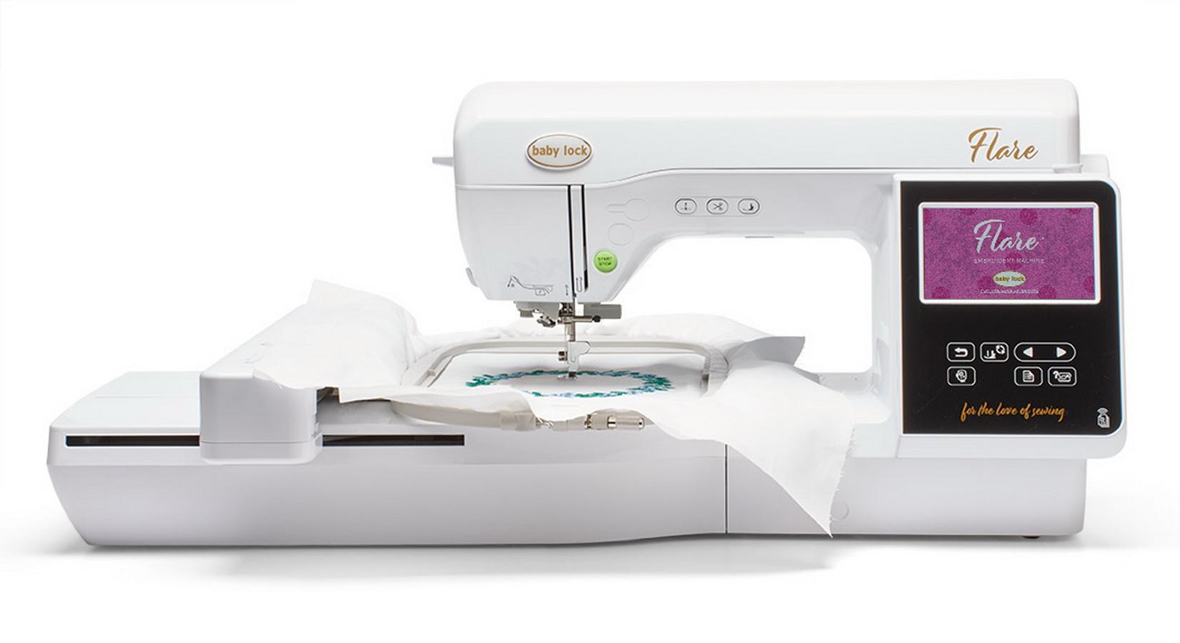 Baby Lock Flare Single Needle Embroidery Machine