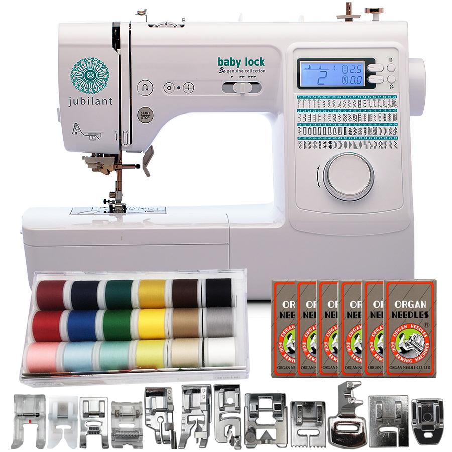 Baby Lock Jubilant Sewing Machine with FREE Bonus Bundle