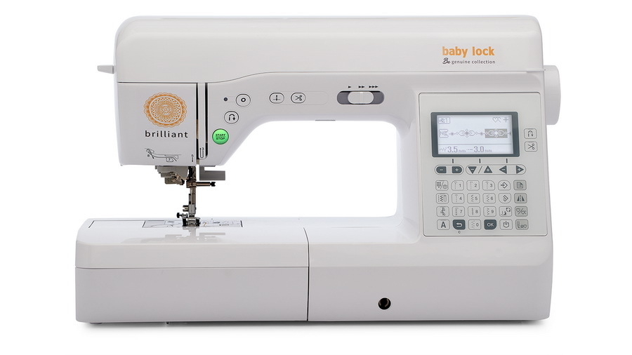 Baby Lock Brilliant Sewing Machine - From the Genuine Collection