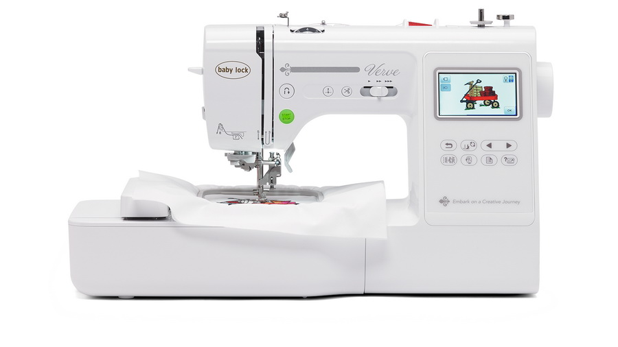 Compact Embroidery Sewing Machine: Baby Lock Verve Review