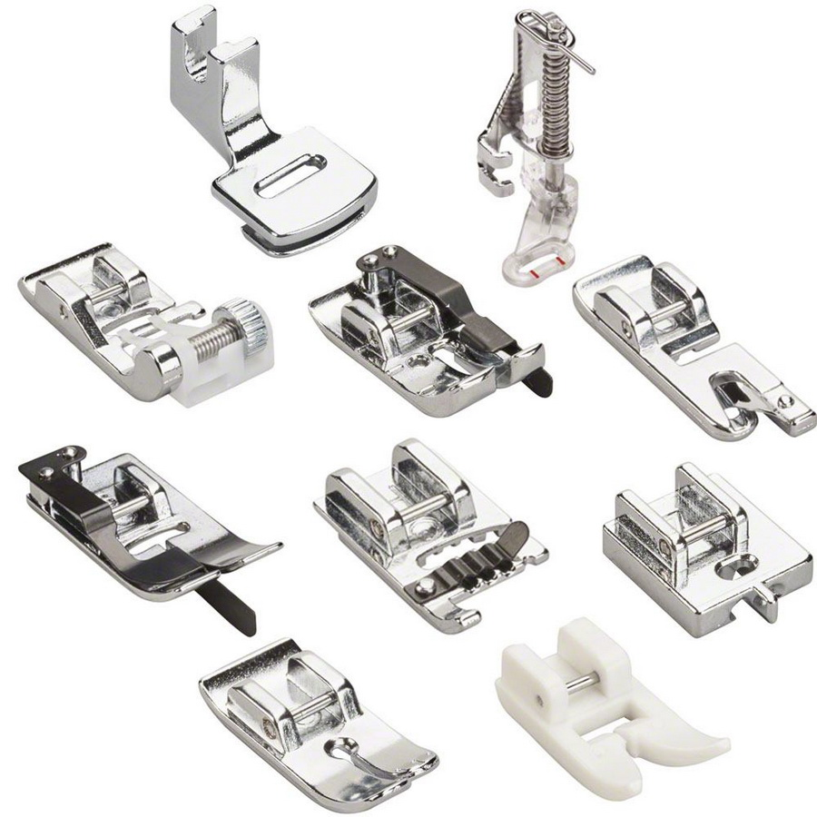 10 Low Shank Piece Presser Foot Kit for the Bernette B37 and B38