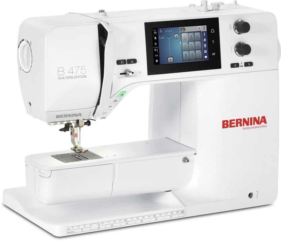 Bernina 475 Quilters Edition Quilting Machine