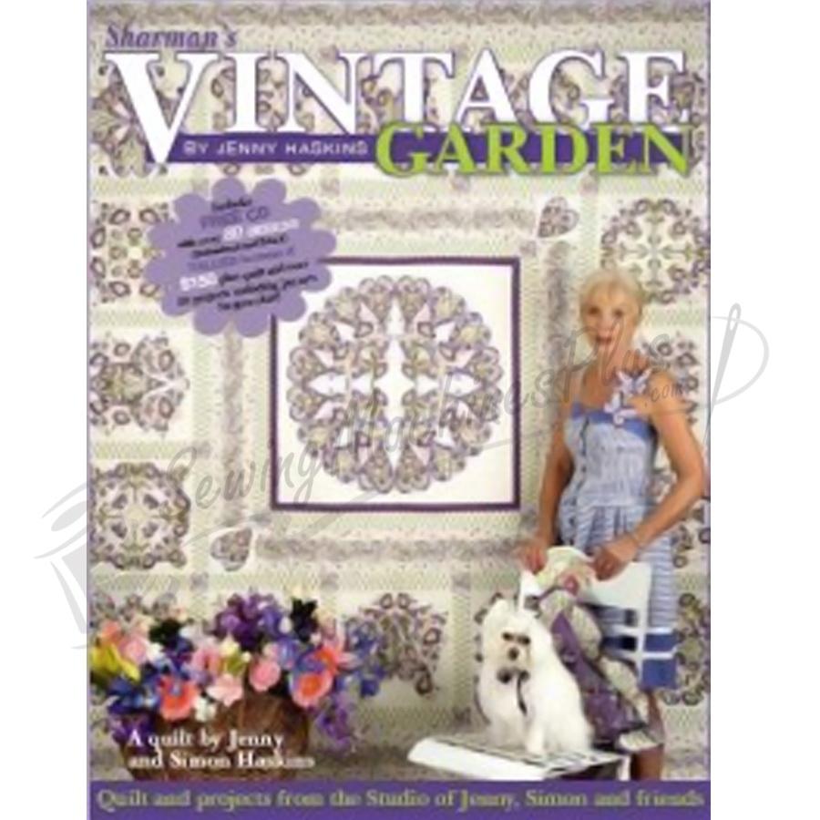 Sharmans Vintage Garden Project Book by Jenny Haskins