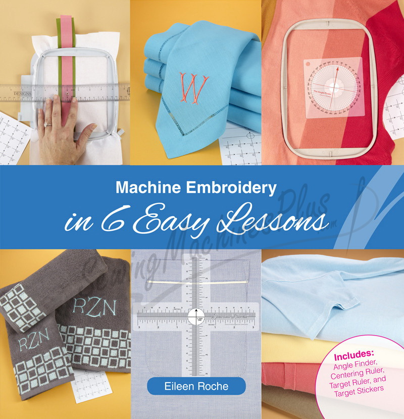 DIME - Machine Embroidery In 6 Easy Lessons Book with Tools (MEB0010)