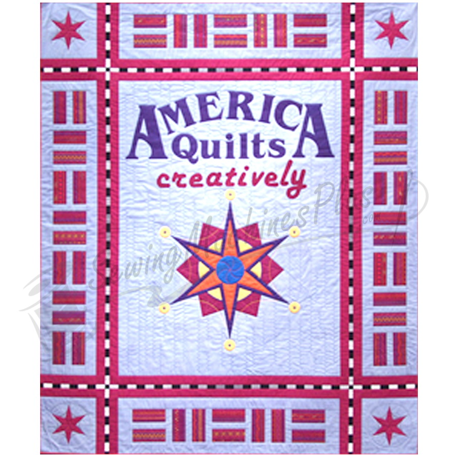 Viking America Quilts Creatively 600 Book